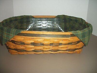 1998 Longaberger Traditions Collection Hospitality Basket with Liners
