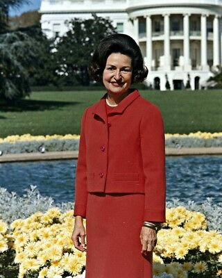 """New 8x10 Photo: First Lady Claudia """"Lady Bird"""" Johnson, Wife of 36th President"""