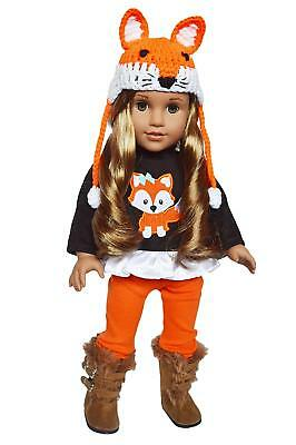 Woodland Fox Fall Outfit Fits 18 Inch American Girl Doll Clothes
