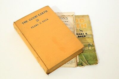 Vintage Book: The Good Earth by Pearl S. Buck (1936)
