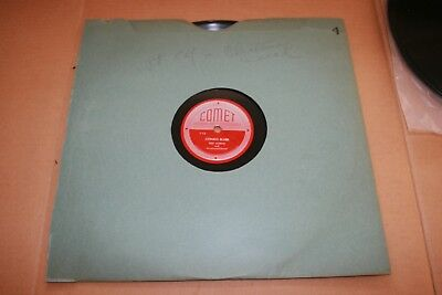 """RED NORVO Selected SEXTET 12"""" 78rpm GET HAPPY Congo Blues Charlie Parker cracked"""