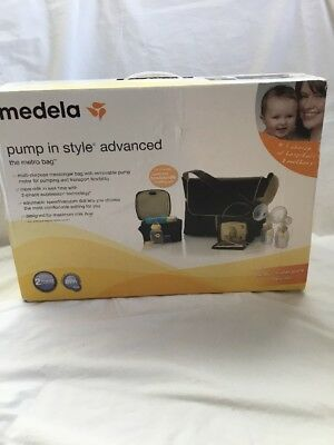 Medela Pump In Style Advanced The Metro Tote Bag Double Electric Breast Pump