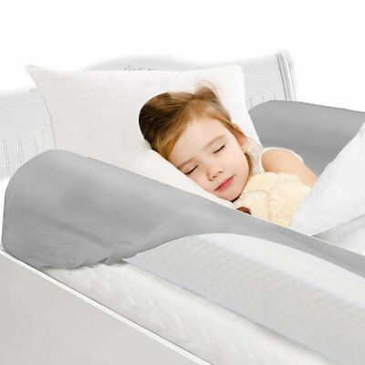 Toddler Bed Rail Bumpers [2 Pack] Safety Sleep Bedside Rail Guard for Toddlers