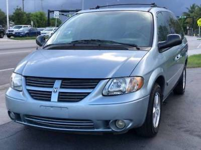 2005 Dodge Caravan  2005 Dodge Grand Caravan SE Sunroof Leather Drives Great Florida Onwed