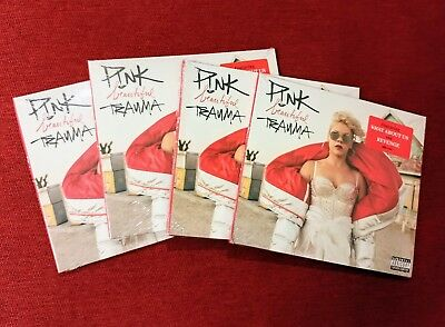 (4) SEALED COPIES CD LOT: Beautiful Trauma by P!nk Pink (Oct 2017 RCA) EXPLICIT