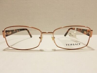 a0006fefb51f0 NEW VERSACE AUTHENTIC MOD.1177-B-M 1252 Rose Gold Women s Eyeglasses 54MM  ITALY