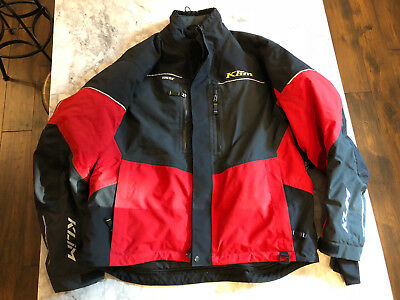 Klim Keweenaw Parka, Red, XXL, Pre-Owned