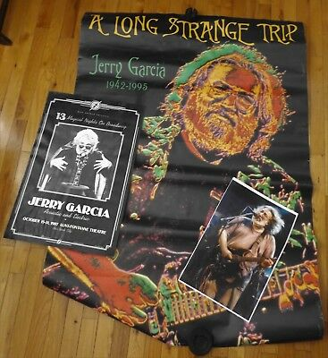 Lot Of **3** Jerry Garcia Posters