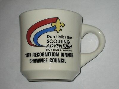 Shawnee Council 1987 Recognition Dinner  Coffee Mug