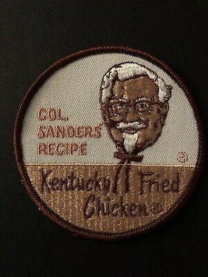 Vintage KFC Worker Unifrom Patch Kentucky Fried Chicken Col Sanders 1960s/70s