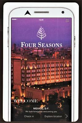 THE FOUR SEASONS HOTEL *MEXICO * hotel key card FAST SAFE SHIPPING! #89