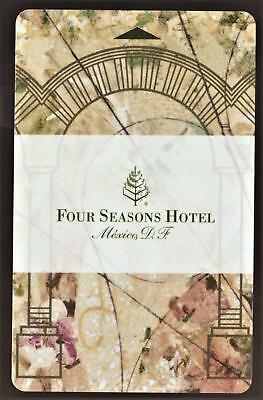 THE FOUR SEASONS HOTEL *MEXICO DF* hotel key card FAST SAFE SHIPPING! #88