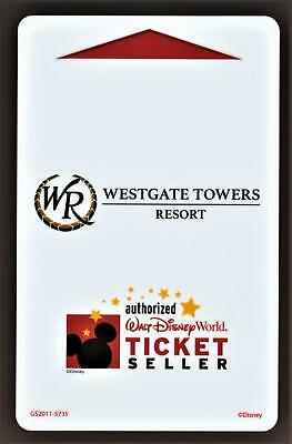 WALT DISNEY WORLD *WESTGATE TOWERS RESORT * key card Fast Safe Shipping #79