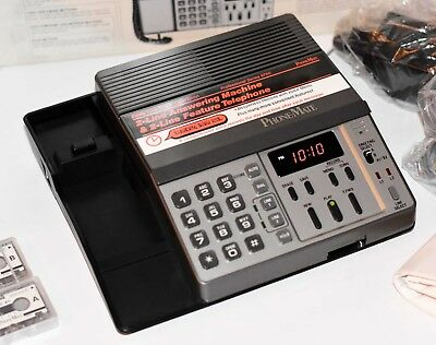 NEW NOS Professional Series Phonemate 9750 Phone Recorder 2 Line-Vintage-RARE!