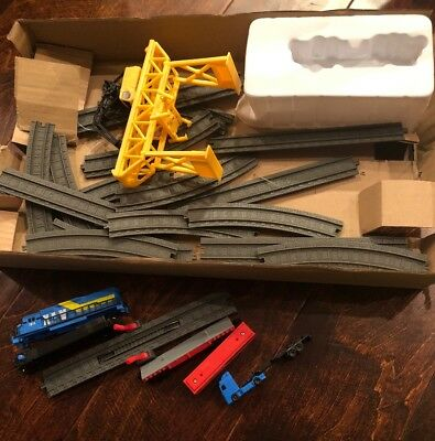 Power Trains 2.0* STARTER SET Port Cargo Loader Crane & Gantry MOTORIZED TRAIN