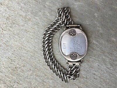 dog tag bracelet military sterling silver navy pilot