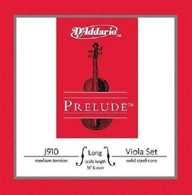 "D'Addario PRELUDE Viola String Set J910 LM Long Scale 16"" & over Medium Tension"