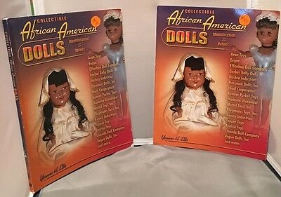 Black /ebony/aa Dolls Price Values Guide Collector Book Lowest Price On Ebay!!!