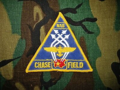 {{{{}}}}  Old - Us Naval Air Station Chase Field Patch {{{{}}}}