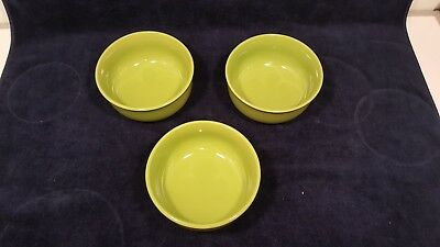 New Set of 3 Royal Norfolk Soup Cereal Bowl - Green