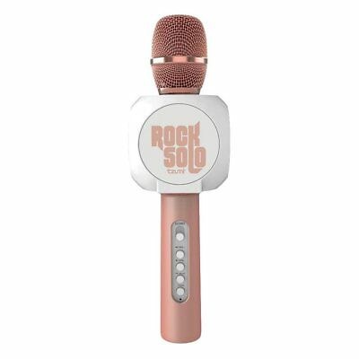 Rock Solo Bluetooth Karaoke Microphone and Smartphone Holder