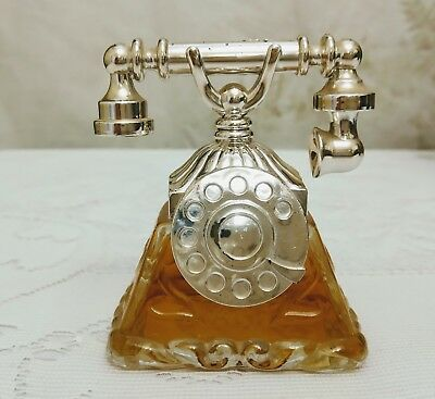 RETRO Unopened Vintage Perfume Avon La Belle Antique Telephone Perfume Bottle