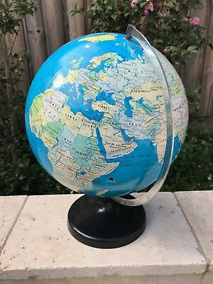 30cm rotating world globe: help your child to learn