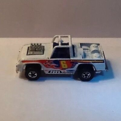 Vintage 1973 Hot Wheels Baja Bruiser White #6 Good Condition. Very Rare!
