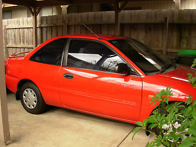 1995 Red Mitsubishi Lancer GXLI - Blown Head Gasket - Otherwise Excell.Condition