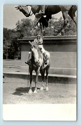 Pendleton, OR - COWGIRL EMPOWERED BY ROUND-UP RODEO - WOMENS LIB VTG PHOTO RPPC