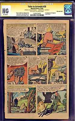 TALES TO ASTONISH #38 (1962) 1st EGGHEAD vs. ANT-MAN - * SIGNED BY STAN LEE * 1!