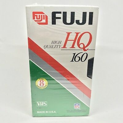 3 Pack Blank Fuji VHS Video Tapes T-120 Min NEW SEALED