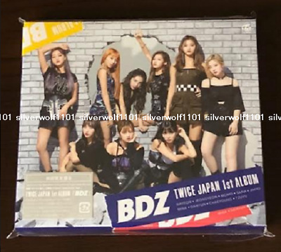 TWICE BDZ TYPE B Limited Edition CD + DVD + CARD NEW from