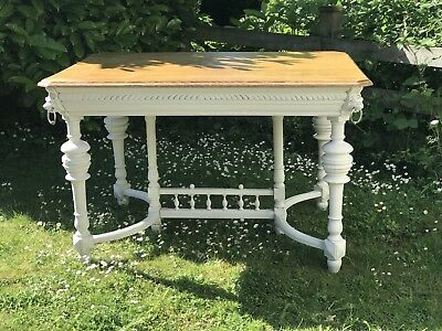 Antique French Oak Dining Table, Early 1900's - Delivery Available