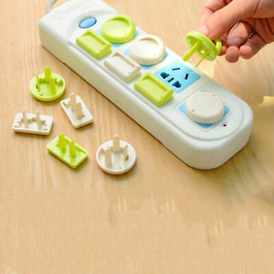 KD_ 6X Safety Electric Outlet Plug Covers Children Baby Protector Security Gua