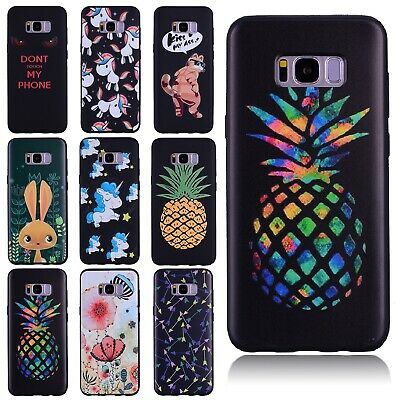 For Samsung Galaxy Note 9/J2 Pro 2018 Pattern Soft TPU Silicone Back Case Cover