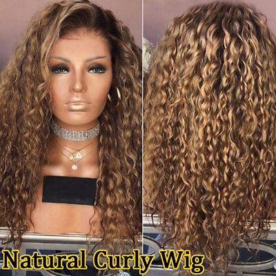 Women's Lady Wig Long Curly Hair High Temperature Wire Fashion For Cosplay