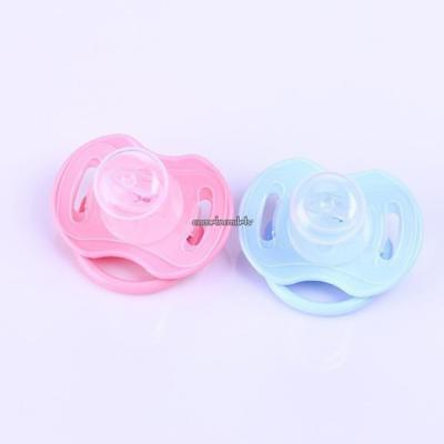 Newborn Kids Soft Silicone Orthodontic Dummy Pacifier Baby Teat Soother CLSV