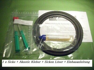 Kenwood LS770G Lautsprecher Gummi Sicke high quality rubber ring kit 211g