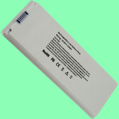 6 Cells Battery for Apple MacBook 13 13.3 Inch A1181 A1185 MA561 MA566 White