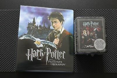 Harry Potter The Prisoner Of Azkaban Binder & Limited Edition Trading Cards Tin