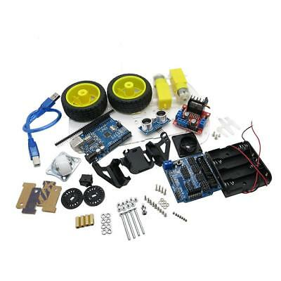 Smart Car Robot Tracking Car Chassis Kit 2WD Ultrasonic for Arduino MCU Accessor