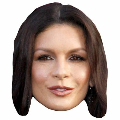 Catherine Zeta-Jones Maske aus Pappe