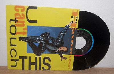 "(lp)7"" single MC HAMMER u can´t touch this  [1990] GERMAN PS Cover EMI"
