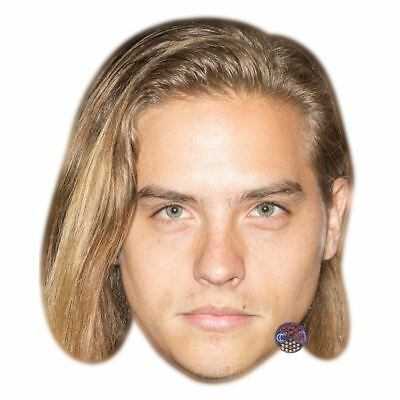 Dylan Sprouse Maske aus Pappe