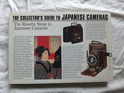 The Collectors Guide To Japanese Cameras *rare*