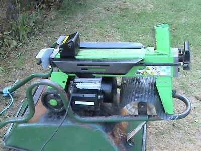 Electric Hydraulic 6 Ton Log Splitter,easy To Use ! # No Reserve #