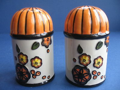 Lorna Bailey Limited Edition Crocker Buildings Cruet Set  In Exc
