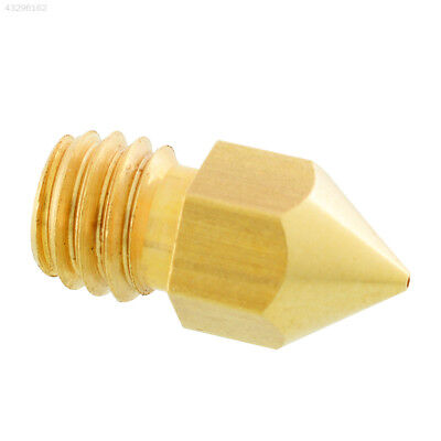 0.4mm 3D Printer Extruder Head for Makerbot MK8 RepRap Brass common use