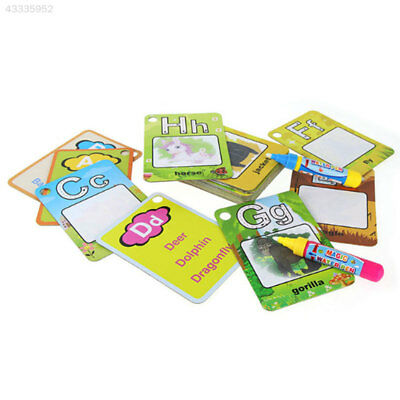 Graffiti Card Toys Letter Writting Learning Educational Recognition Congnition